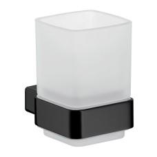 0520 133 00  LOFT Склянка на стіну, чорний мат